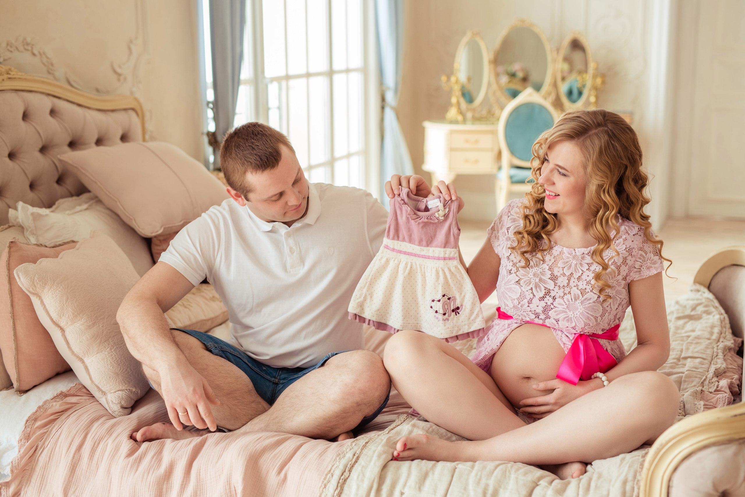 Макияж для беременной фотосессии
