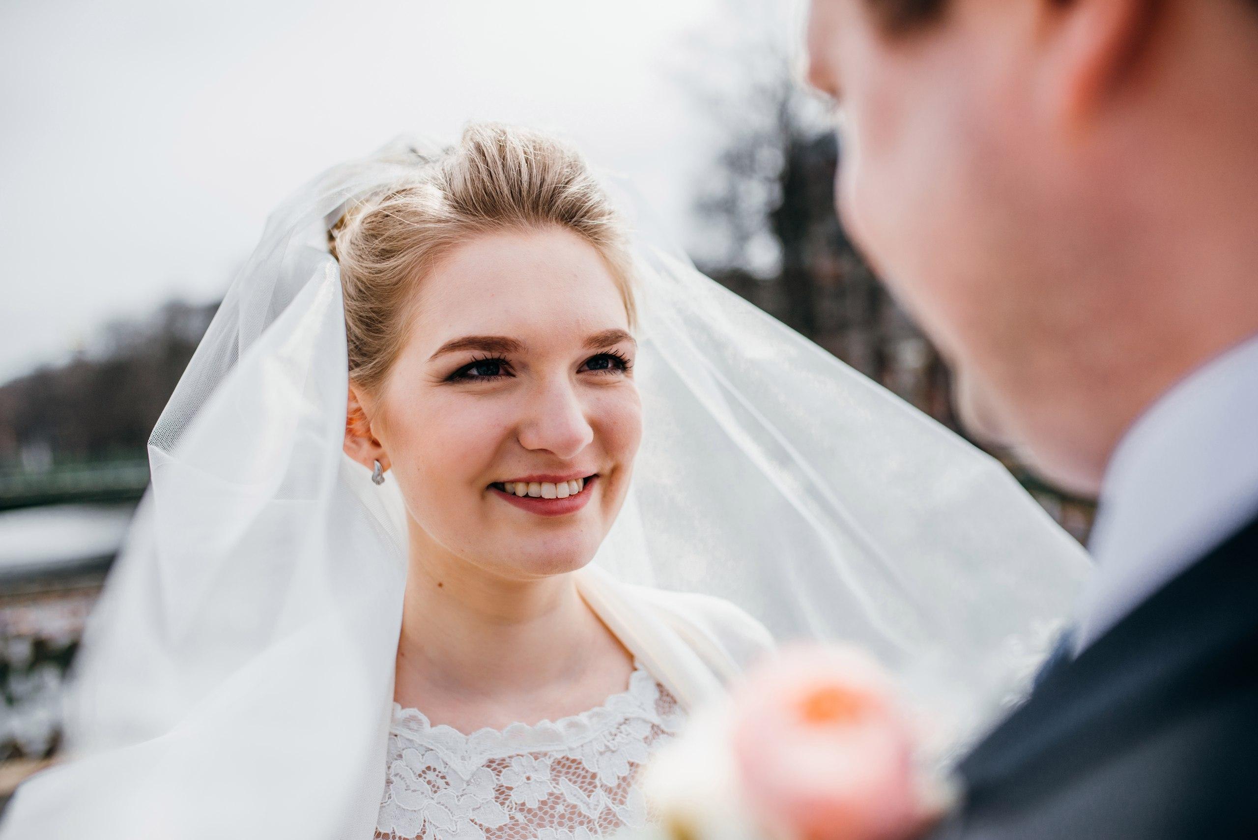 Свадебный макияж Анастасии