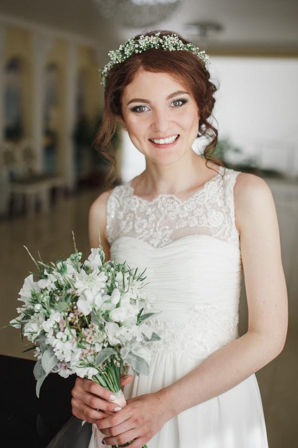 Макияж на свадьбу в стиле рустик
