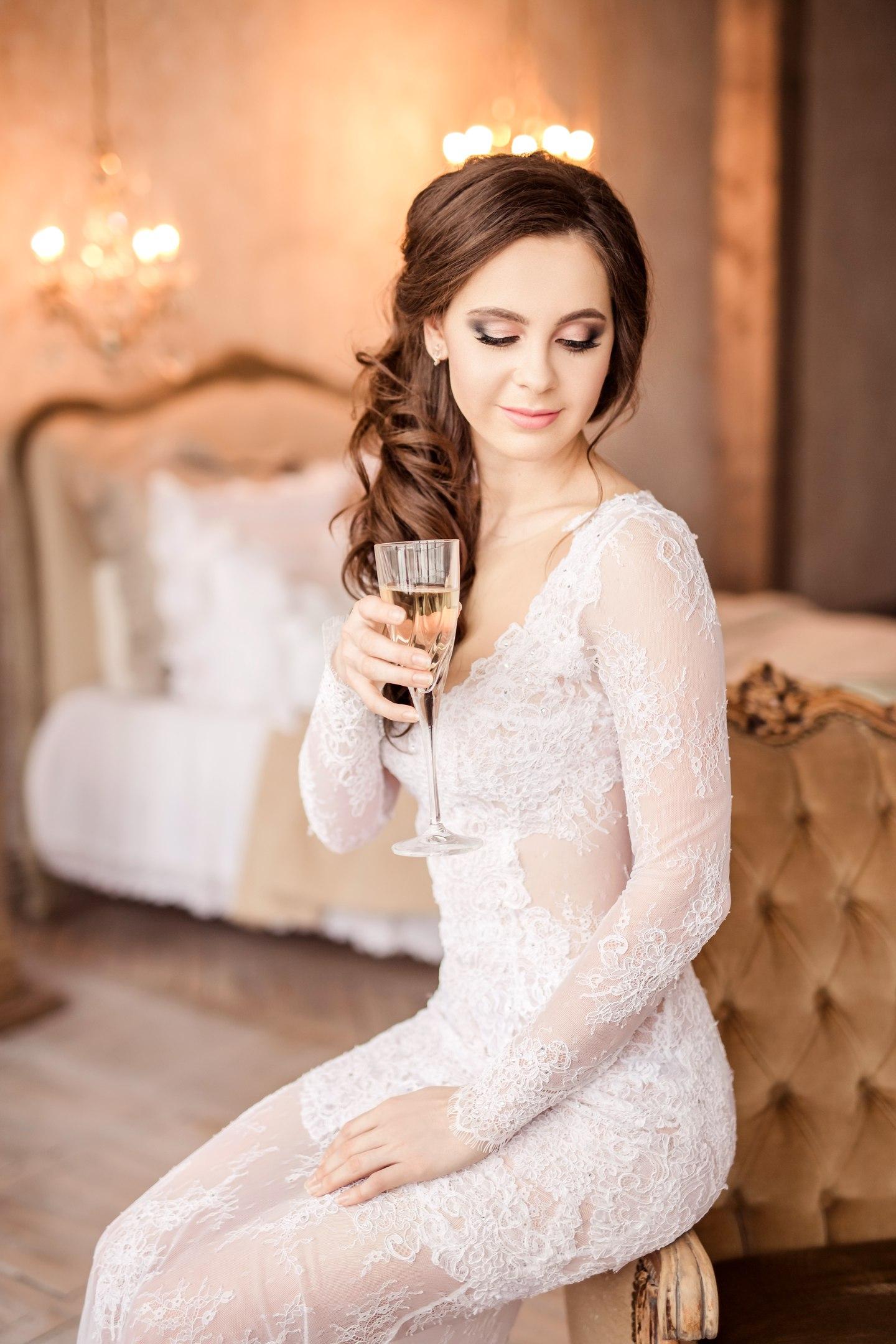 красивый свадебный макияж фото