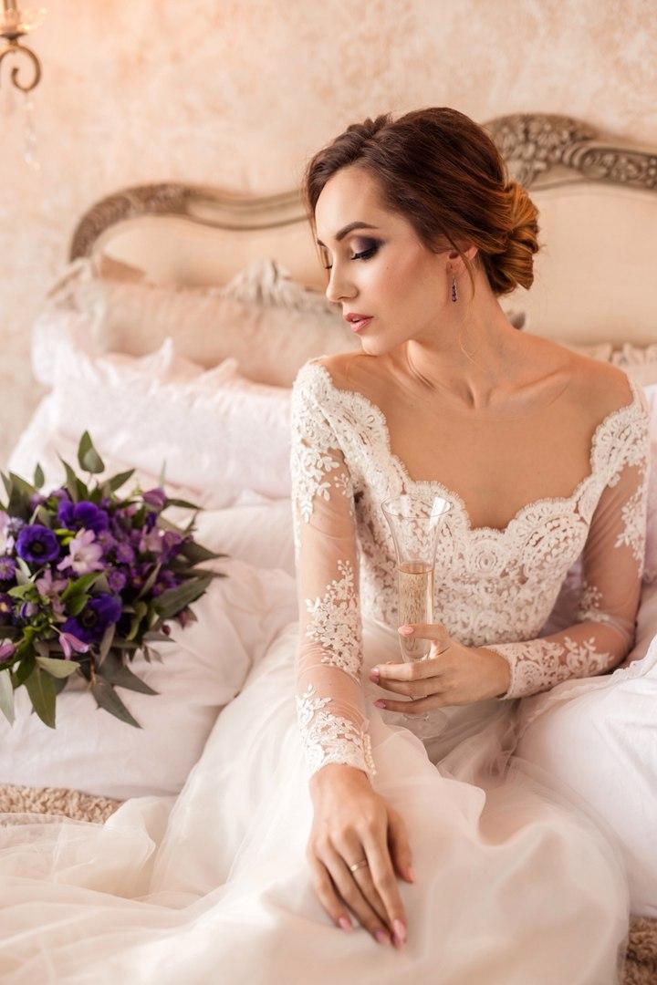 стилист визажист на свадьбу спб