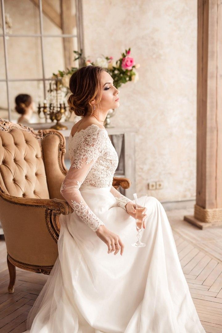 Свадебные прически на средние волосы фото